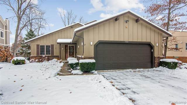 7593 Biscayne Avenue, White Lake Twp, MI 48383 (#2200009625) :: The Buckley Jolley Real Estate Team