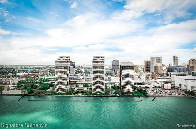 300 Riverfront Drive 27A, Detroit, MI 48226 (#2200010100) :: The Alex Nugent Team | Real Estate One
