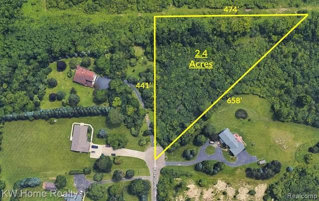 2801 Bateson Court, Ann Arbor Twp, MI 48105 (#2200010643) :: The Buckley Jolley Real Estate Team