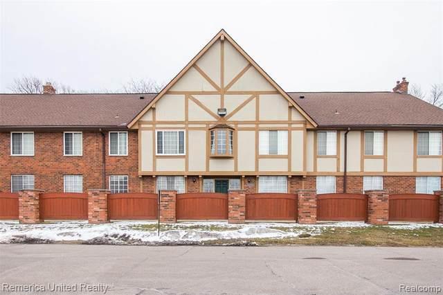 30200 Southfield Rd #104, Southfield, MI 48076 (#2200011175) :: The Buckley Jolley Real Estate Team