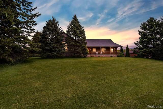 1590 House Road, Leroy Twp, MI 48892 (MLS #2200011607) :: The John Wentworth Group