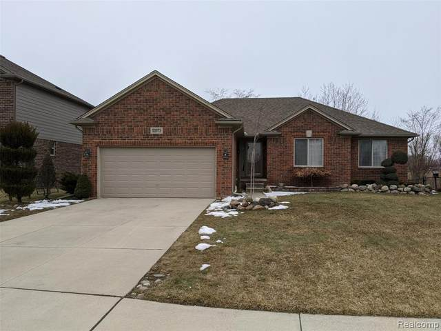 53373 Crawford Drive, Chesterfield Twp, MI 48051 (MLS #2200012532) :: The Toth Team