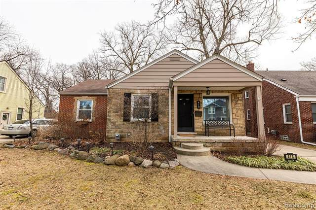 418 N Blair Avenue, Royal Oak, MI 48067 (#2200013560) :: Alan Brown Group