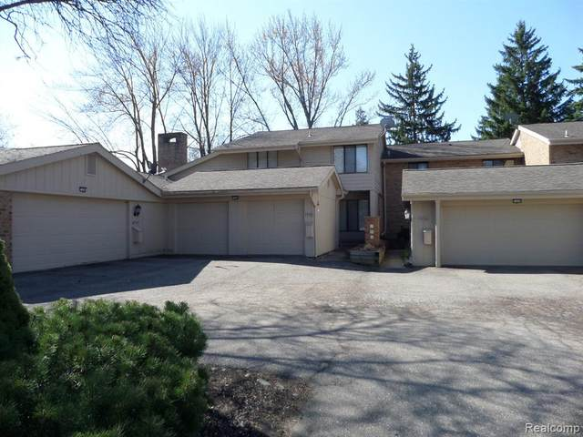 7458 Bridge Way, West Bloomfield Twp, MI 48322 (#2200015936) :: RE/MAX Nexus