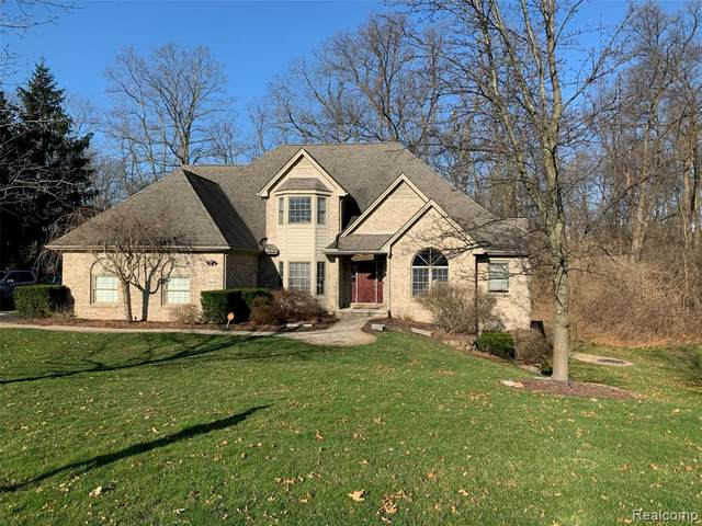 10408 Overhill Drive, Brighton Twp, MI 48114 (MLS #2200018647) :: The John Wentworth Group