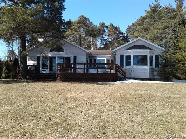 3386 Lakeshore Road, Forester Twp, MI 48427 (#2200020730) :: BestMichiganHouses.com