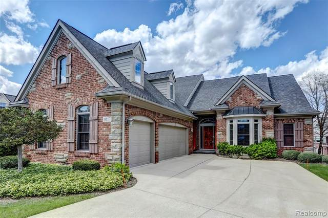 10817 Cliffview Drive, Green Oak Twp, MI 48178 (#2200023960) :: The Mulvihill Group