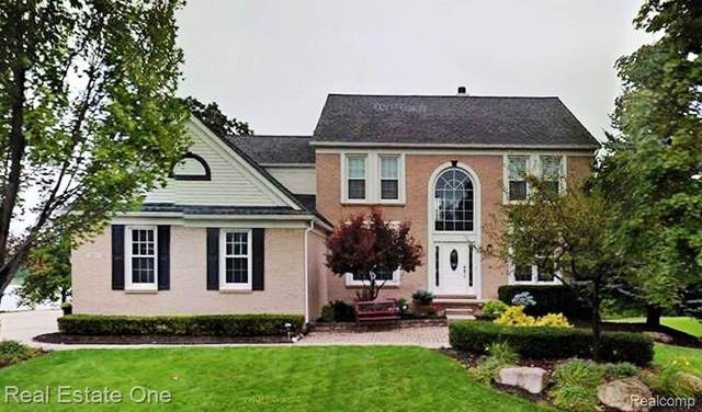 321 Franklin Wright Boulevard, Orion Twp, MI 48362 (#2200024455) :: The Alex Nugent Team | Real Estate One