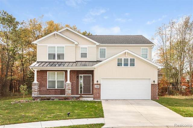 26290 Harrow Court, South Lyon, MI 48178 (#2200024733) :: The Mulvihill Group