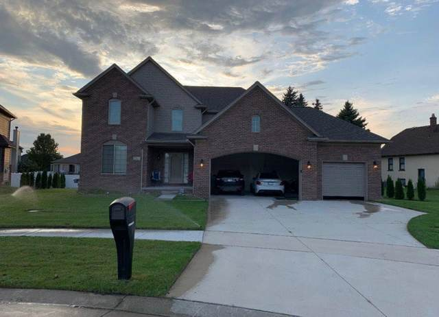 22111 Montgomery Court, Macomb Twp, MI 48042 (#58050009280) :: The Alex Nugent Team | Real Estate One