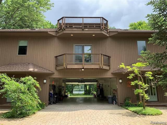 11575 Cedar Bend Drive, Hamburg Twp, MI 48169 (#2200025193) :: Alan Brown Group