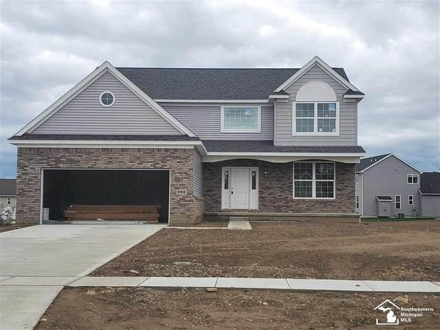 989 Plum Grove Drive, Raisinville Twp, MI 48161 (#57050010244) :: Alan Brown Group