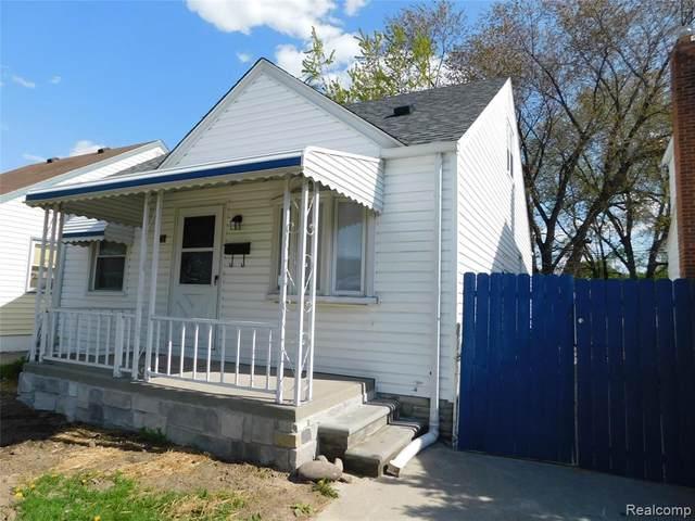 1818 E Goulson Avenue, Hazel Park, MI 48030 (MLS #2200031664) :: The Toth Team