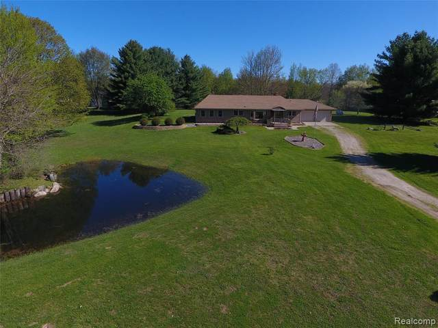 4577 General Squier Road, Dryden Twp, MI 48428 (#2200033426) :: The Mulvihill Group