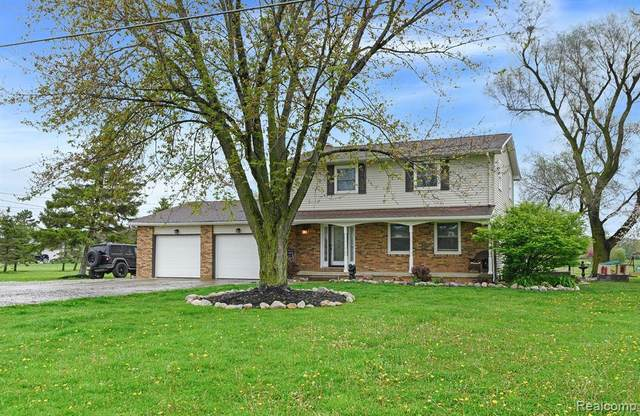 1152 N Mckinley Road, Clayton Twp, MI 48433 (MLS #2200034657) :: The Toth Team
