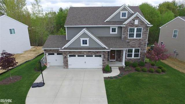 417 Knollwood Dr., Brandon Twp, MI 48462 (#58050011973) :: The Alex Nugent Team | Real Estate One