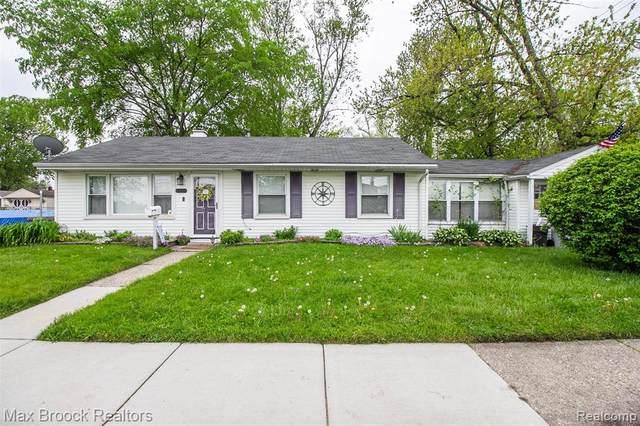 23131 Berdeno Avenue, Hazel Park, MI 48030 (#2200036400) :: The Alex Nugent Team | Real Estate One