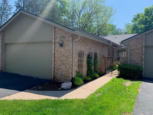 705 Arbor Court, Bloomfield Hills, MI 48304 (#2200036542) :: RE/MAX Nexus