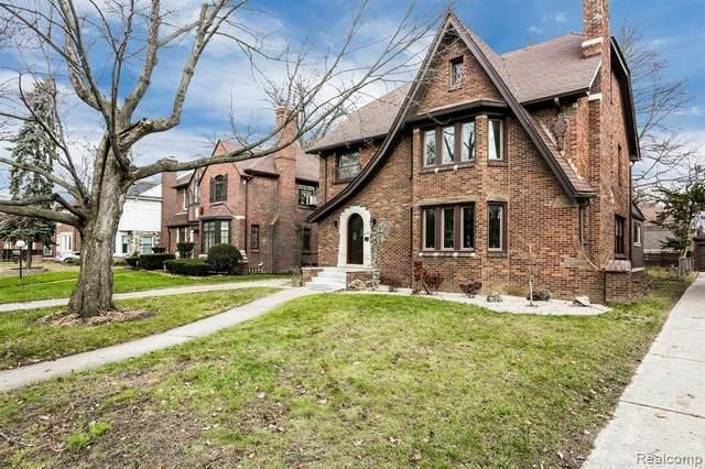 18250 Warrington Drive, Detroit, MI 48221 (#2200037115) :: The Mulvihill Group