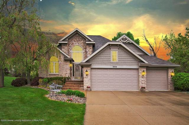 1805 Canyon Trail, Delta Twp, MI 48917 (MLS #630000246303) :: The Toth Team