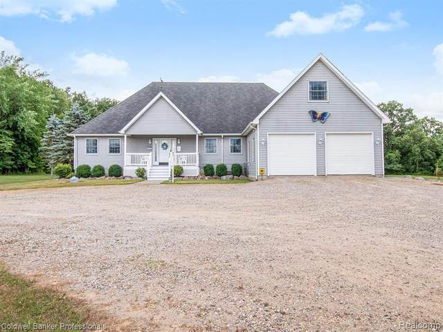 3118 Bowers Road, Attica Twp, MI 48412 (MLS #2200038263) :: The John Wentworth Group