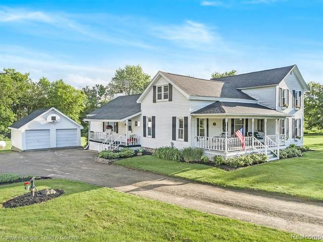6457 Layton Rd, Handy Twp, MI 48836 (#2200038305) :: The Alex Nugent Team | Real Estate One