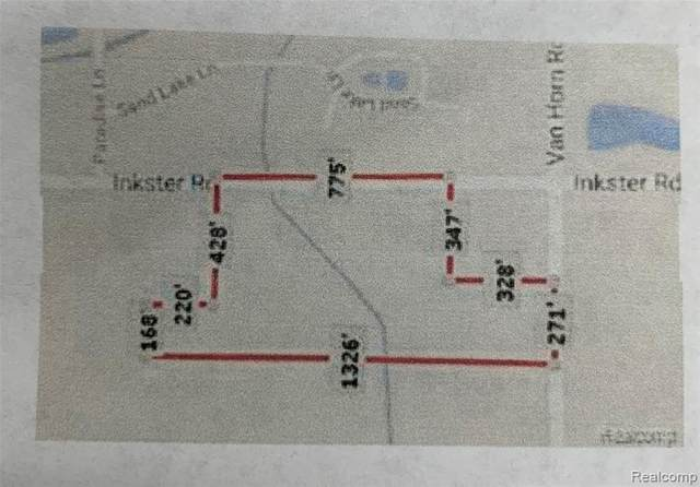 Vacant Van Horn Road, Huron Twp, MI 48164 (#2200038482) :: The BK Agency
