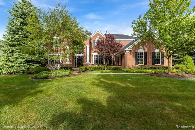 16214 Linden Court, Northville Twp, MI 48168 (#2200040329) :: GK Real Estate Team