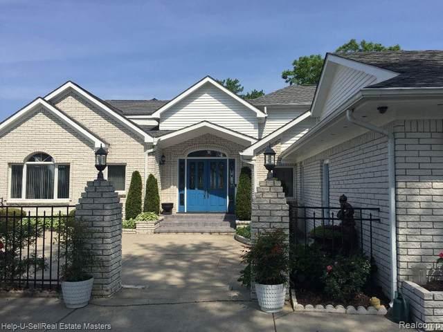8827 Lakeshore, Lexington Twp, MI 48450 (#2200045217) :: The Alex Nugent Team   Real Estate One