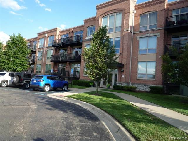 101 S Union St Unit 217, Plymouth, MI 48170 (#2200048102) :: GK Real Estate Team