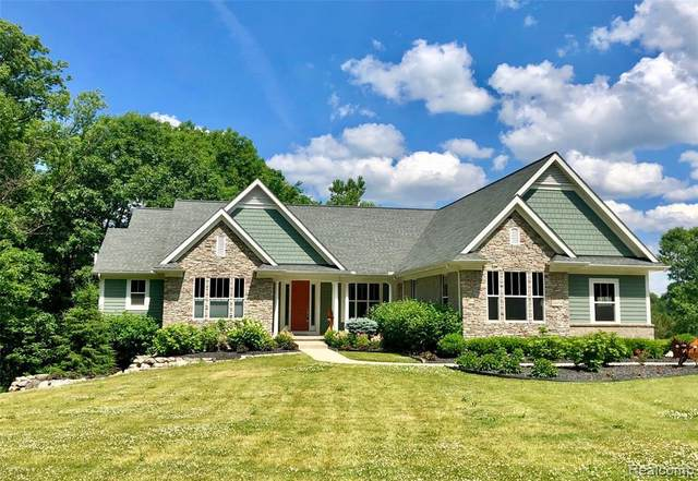 10450 Deer Ridge Trail, Rose Twp, MI 48442 (#2200048410) :: The Alex Nugent Team | Real Estate One