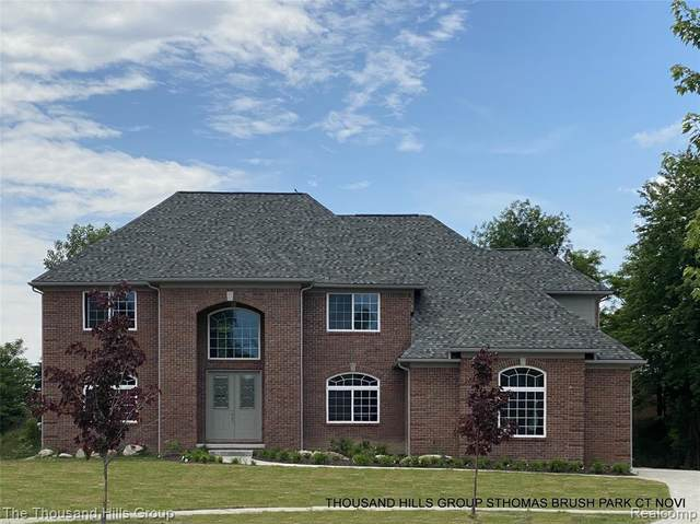 29930 Brush Park Court, Novi, MI 48377 (#2200049656) :: Duneske Real Estate Advisors
