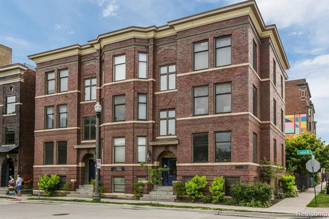 112 Watson Street #22, Detroit, MI 48201 (#2200052557) :: The Mulvihill Group