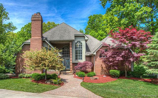 153 Waterview Drive, Orion Twp, MI 48362 (#2200053129) :: GK Real Estate Team