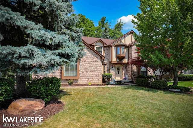 2524 Hidden Valley, Rochester Hills, MI 48309 (#58050017024) :: RE/MAX Nexus