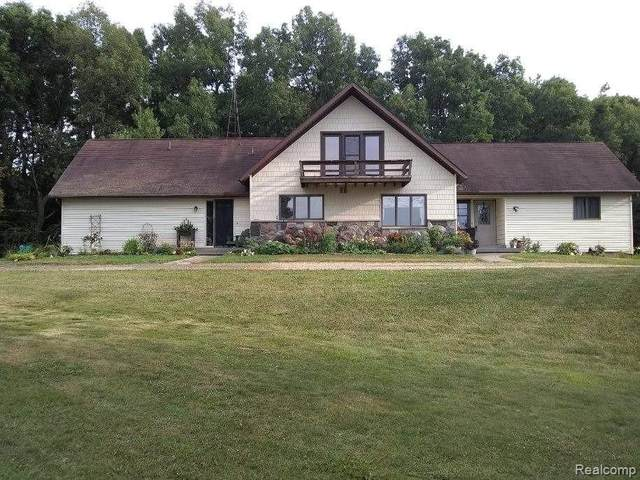 4704 Casey Road, Dryden Twp, MI 48428 (#2200054412) :: Alan Brown Group