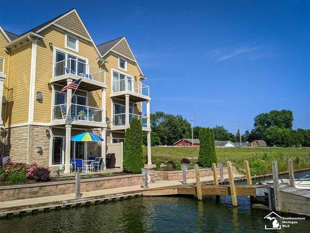 3166 Charme Harbor Dr. Four (4), Frenchtown Twp, MI 48162 (#57050017603) :: The Mulvihill Group