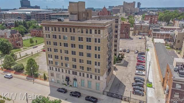 2915 John R Street #406, Detroit, MI 48201 (#2200056217) :: The BK Agency