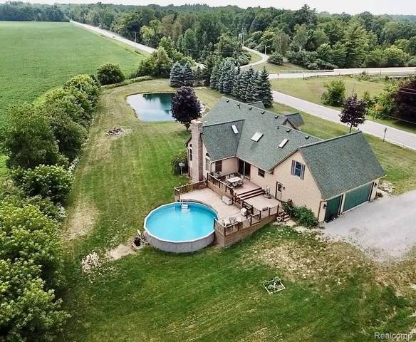 1545 S Bartlett Road, ST. CLAIR TWP, MI 48079 (#2200058421) :: Novak & Associates