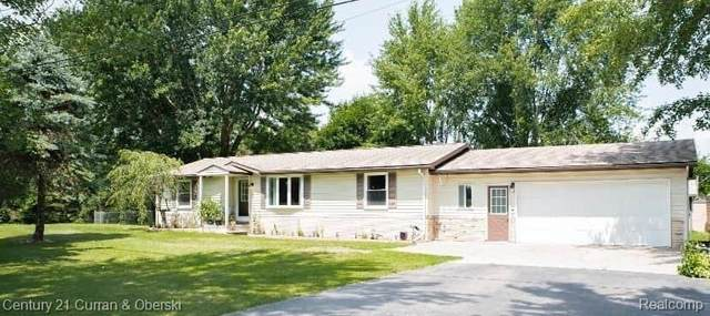5060 Colf Rd, Exeter Twp, MI 48117 (MLS #2200059142) :: The John Wentworth Group