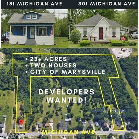 181 Michigan Avenue, Marysville, MI 48040 (MLS #2200060394) :: The Toth Team