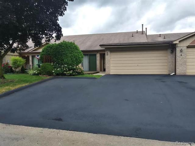 45294 Manor Drive #7, Shelby Twp, MI 48317 (#2200061439) :: The Alex Nugent Team | Real Estate One