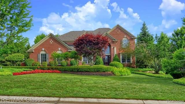 50682 Belmont Court, Canton Twp, MI 48187 (#2200063237) :: The Alex Nugent Team | Real Estate One