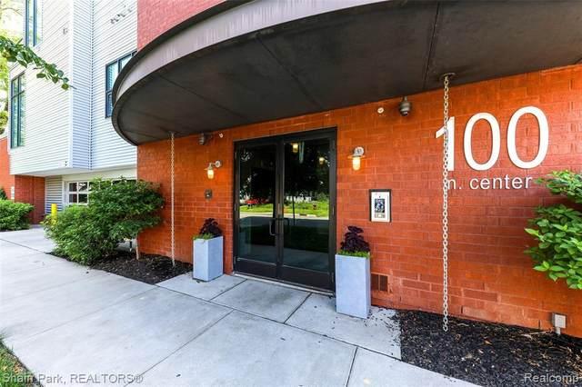 100 N Center Street Street #203, Royal Oak, MI 48067 (#2200063692) :: Keller Williams West Bloomfield
