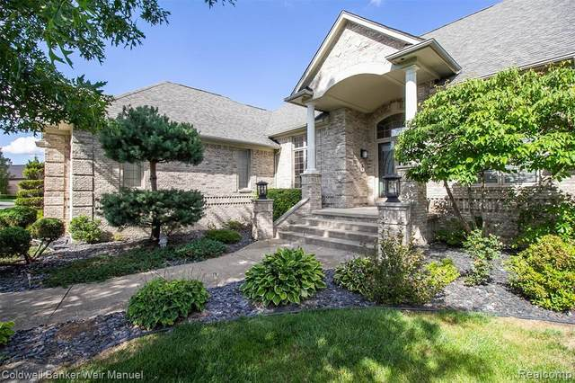 55660 Whitney Court, Shelby Twp, MI 48315 (#2200064120) :: The Alex Nugent Team   Real Estate One