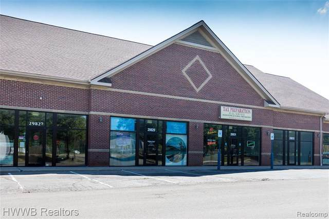 29825-29835 W 9 MILE Road, Farmington Hills, MI 48336 (#2200064621) :: The Mulvihill Group