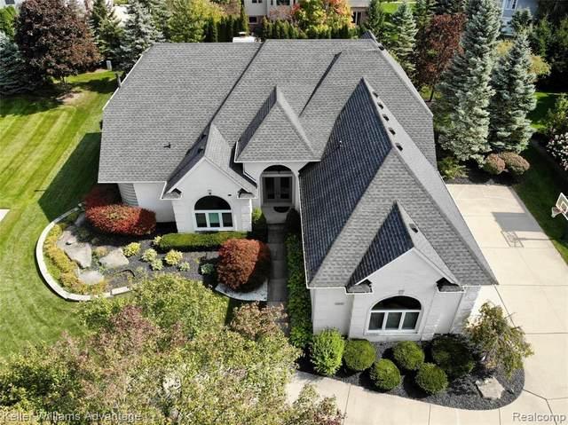 23805 Wintergreen Circle, Novi, MI 48374 (#2200065014) :: Duneske Real Estate Advisors
