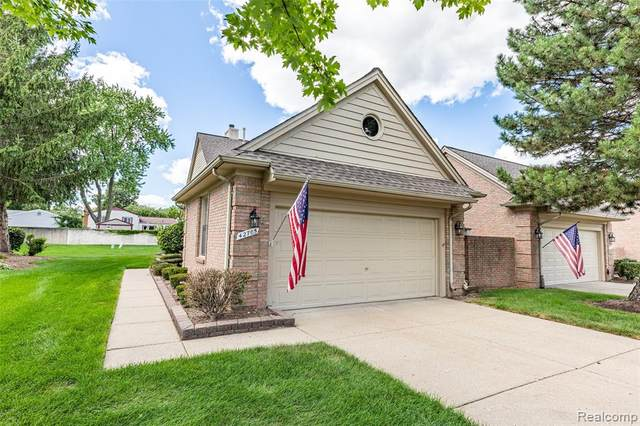42705 Jason Court, Sterling Heights, MI 48313 (#2200066734) :: GK Real Estate Team