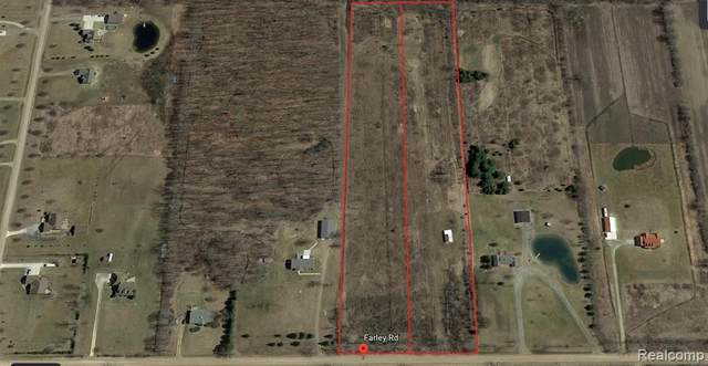 0001 Farley Road, Almont Twp, MI 48003 (#2200067557) :: Robert E Smith Realty