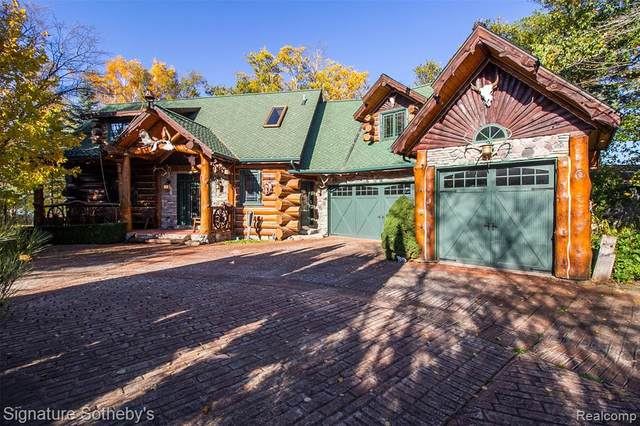 3521 Bluff Road, Port Austin Twp, MI 48467 (#2200069658) :: BestMichiganHouses.com